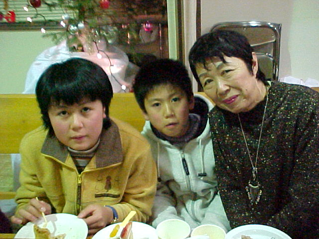 Etsuko and her grandchildren