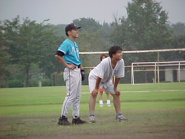 Daichan at 2nd base